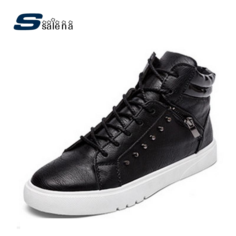 Boys Casual Shoes High Quality Men Working Shoes Flats Outdoor Breathable Trainers Size Eu 39-44 AA30034<br>