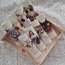 12*12cm cute cat fabric for diy sewing purse home textiles cartoon cotton cloth wall decora quiltting patchwork