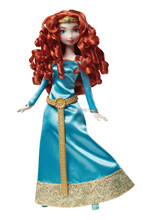 Free Shipping Original Brand Brave Princess Merida Dolls for Girls Christmas New Year Birthday Gifts Classic Baby Toys kids
