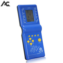 ACGAM Childhood Classic Tetris Game Hand Held LCD Electronic Game Toys Fun Brick Game Riddle Handheld Game Console