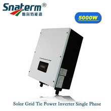 5KW 5000W MPPT Solar On Grid Inverter 220VAC 50Hz/60Hz ,97%High efficiency for Solar Home System connect 250w 300w solar panel