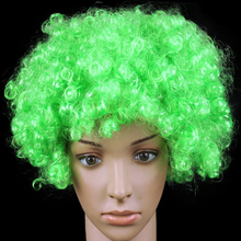 LED Light Up Mohawk Wig Mohican Hairstyle Christmas Halloween Wigs cosplay hairs clown funny wig new brazil football fans wigs