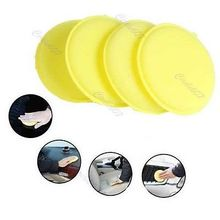 48pcs/lot Waxing Polish Wax Foam Sponge Applicator Pads For Clean Car Vehicle Glass(China)