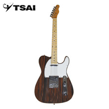 TSAI Ship from USA Electric Guitar with Wood Grain Pattern Basswood Body Maple Neck And Fingerboard 22 Frets Guitar Popular(China)