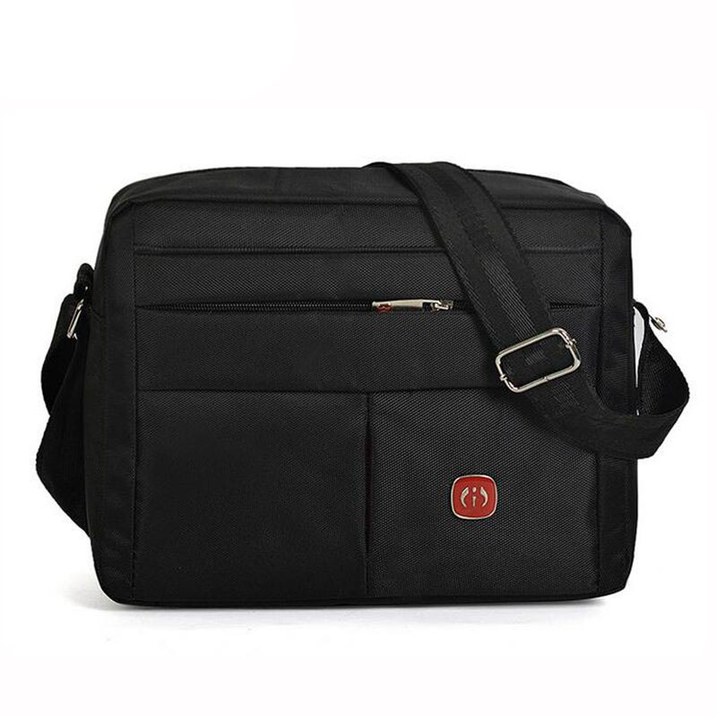Two Size! New 2017 Hot Sale Mens Bag Original Oxford Water-proof Zipper Bag Man Famous Brand Designers Black Travel Bags PP-120<br><br>Aliexpress