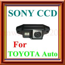 Free Shipping!!! CAR REAR VIEW REVERSE COLOR SONY CHIP CAMERA FOR TOYOTA LAND CRUISER PRADO 2700 4000(China)