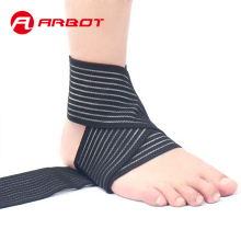 Arbot Sports Safety Ankle Support Pad Protection Ankle Bandage Elastic Brace Guard Gym Foot Wrap Protection Brand ankle weights(China)