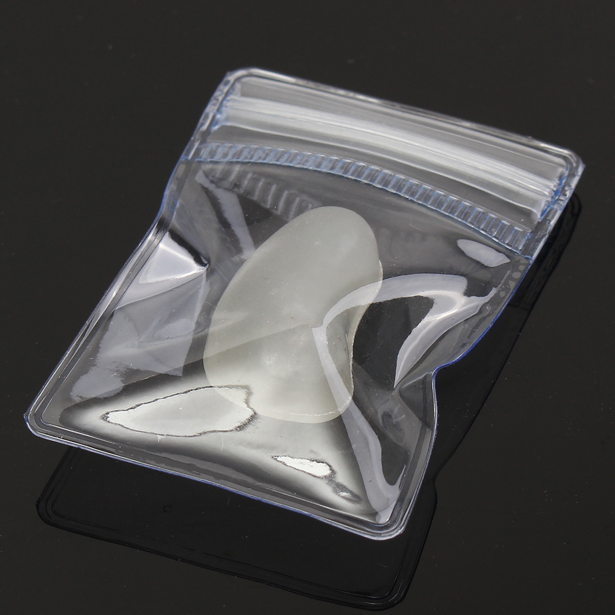 MAYITR Reclosable 50pcs New PVC Jewellery Extra Thick Mini Ziplock Grip Seal Bags Plastic small zipper Storage Bags