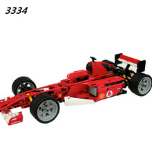 AIBOULLY 3334 Formula Series Transport 1:10 Racing Car Model 726pcs Building Block Educational DIY Bricks Toys compatible