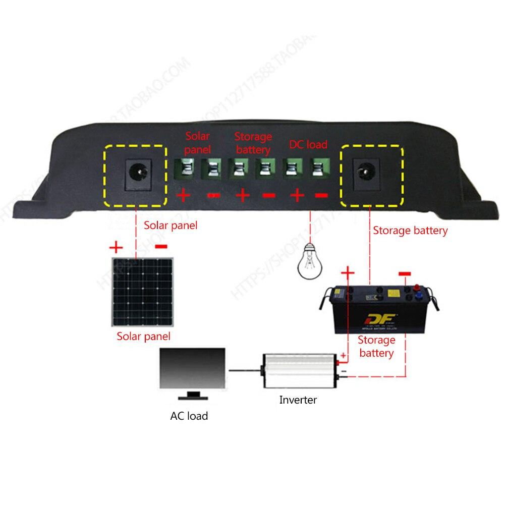 YCX-003 30-100A contr/ôleur de Charge de r/égulateur de Panneau Solaire MPPT 12 V//24 V Suivi Automatique de Fo-cus East buy Contr/ôleur de Charge MPPT YCX-003-100A