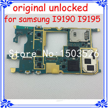 100% work EU version i9195 original main board for samsung Galaxy S4 mini i9195 unlocked motherboard full function logic board