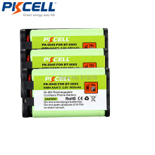 3 Pack 3.6V Model Battery Replaces for Uniden BBTY0545001 BT-0003 BT0003 PK-0045 Uniden CTX440 8865 NIMH Rechargeable Cordless(China)