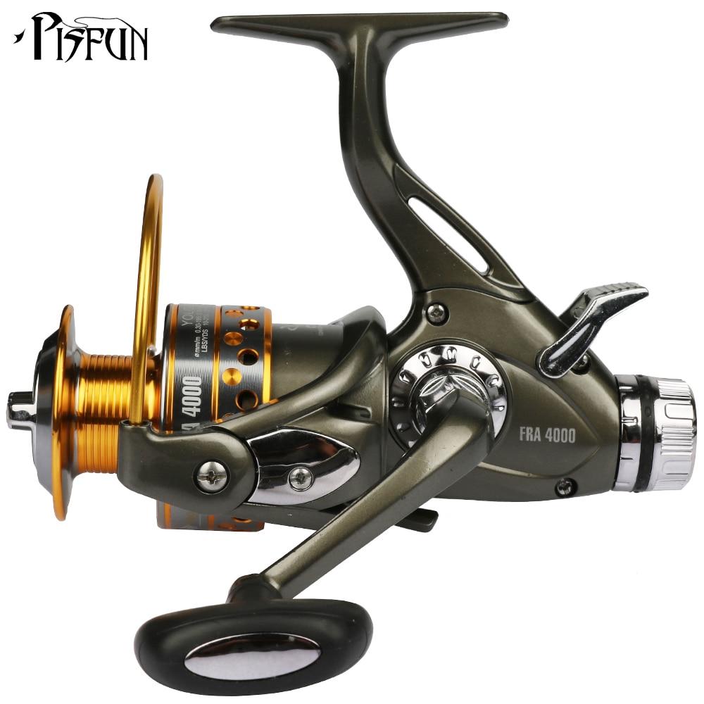 YOLO FRA Dual Brake Feeder Fishing reel 10BB Carp Reel Tackle For Fishing Spinning Free Spare Coil FRA 3000 4000 5000 6000<br>