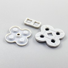 Wholesale 21set conducting button rubber silicone dpad pad RL LR L R left right keypad for NDSL/DSL/Nintendo DS Lite game repair
