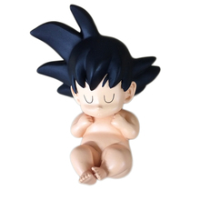 Dragon Ball Little Son Gokou Resin Action Figure Sleeping Ver. Gokou Baby Resin figure Garage Kit Toy Brinquedos Anime 6CM(China)