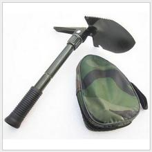 Extension folding shovel outdoor camping mountaineering emergency self-defense Multifunction shovel multi tools survival gadget