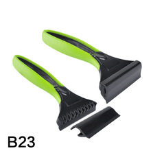 Portable Windshield Ice Scraper Car Cleaner, Snow Remove ABS Wiper, Car cleaning tools #B23