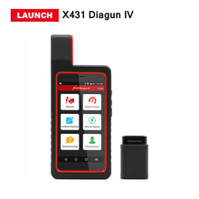 Launch X431 diagun iv scanner with Wifi Bluetooth full system x-431 diagun 4 diagnostic tool better than diagun iii free update(China)