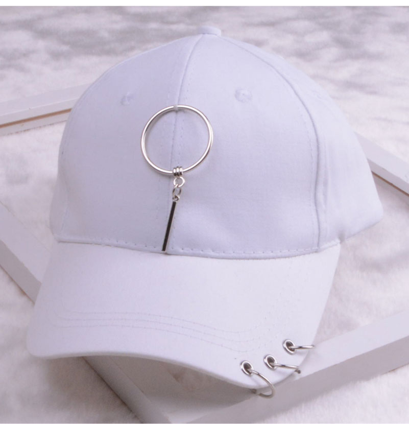 baseball cap with ring dad hats for women men baseball cap women white black baseball cap men dad hat (1)