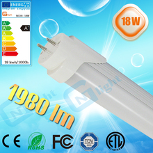 TUV SAA CE UL approval SMD2835 ultra thin 1.2m T8 18W LED tube light long life lighting