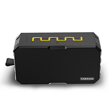 Top Deals wireless Bluetooth Speaker Amplifier Stereo Outdoor waterproof mini HIFI Speakers w/MIC(Black with Yellow/Red)