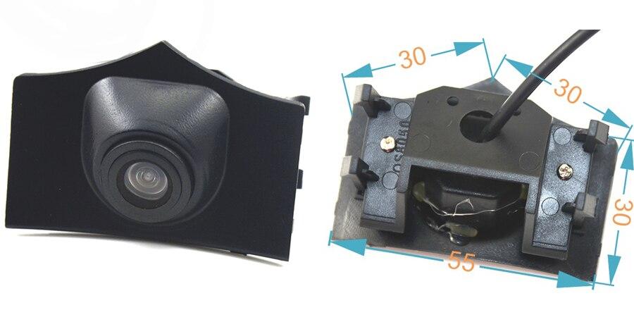 CCD Car Front View vehicle Logo Camera for Audi A6L Q5 Q7 Q3 A4L A4 b8 front logo camera Brand Mark Camera PAL/NTSC 5