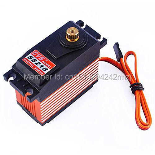 Wholesale 2 x CYS-S8218 Digital Metal Gear High Torque Servo Motor Free Shipping &amp; DropShipping<br>