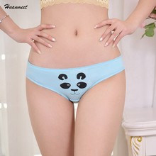 Buy Huanmeet Cotton Womens Briefs Cartoon Printing Female Seamless Panty Women Underwear Sexy Lingerie Elasticity Ladies Panties