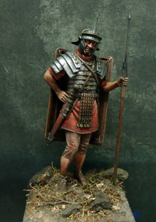 1//10 Scale Japan Daimyo Warrior Bust Model Ancient General Figure Kit Garage Kit