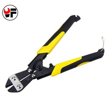 YOFE Diagonal Pliers Carbon Steel Pliers Electrical Wire Cable Cutters Cutting Side Snips Flush Pliers Nipper Hand Tools(China)