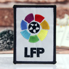 LFP 7 Colors Sport Embroidered Sew On Patch, Football Jacket Badge Kids Clothes Patch Accessories, Jacket Patch Sticker
