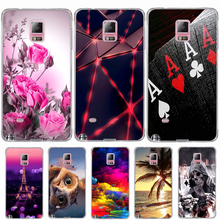 Samsung Galaxy Note4 Cases TPU Soft silicone Back Case Cover Samsung Galaxy Note 4 N9100 Phone Cases 3D Cartoon Coque