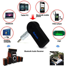 Handsfree Bluetooth 3.0 Car Kit Wireless 3.5mm Streaming A2DP Car Auto Audio Music Receiver Video Player Function Microphone USB