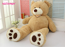 1pcs 130CM 52 inch Giant Stuffed Teddy Bear Life Size Plush Toys Big Huge stuffed animal bed Valentines Day Gift for Girlfriend