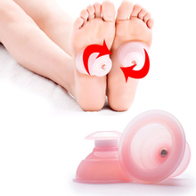 1Pcs Small Family Body Massage Helper Anti Cellulite Vacuum Silicone Cupping Cups Health Care Tool Pink Color C833