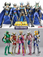 CS models Pegasus Phoenix Ikki Hyoga Tramy shun Thor black Tiger Saint Seiya Myth Toy CS speeding Aurora collection Armor