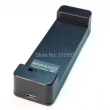 Portable Mini Battery Charger Dock Cradle for Universal Mobile Battery for Samsung Galaxy S2 S3 S4 S5 Note 2 3(China)