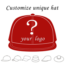 Custom Trucker Hat Flat Bill Visor Free Logo Men Women Summer Snapback Caps Sports Team Group Name Picture Print Free Shipping(China)