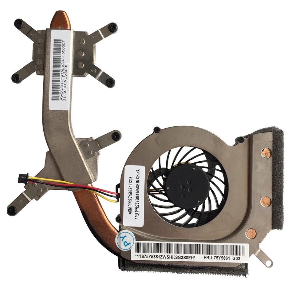 New CPU cooling fan For ThinkPad L412 FRU:75Y5861 heatsink KSB06105HA DELTA 2615N2R Fan Cooler Heatsink<br>