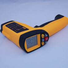 Digital Infrared IR Thermometer Laser Temperature Gun Non-Contact 50:1 with LCD Backlight GM1350 -18~1350C (50:1)