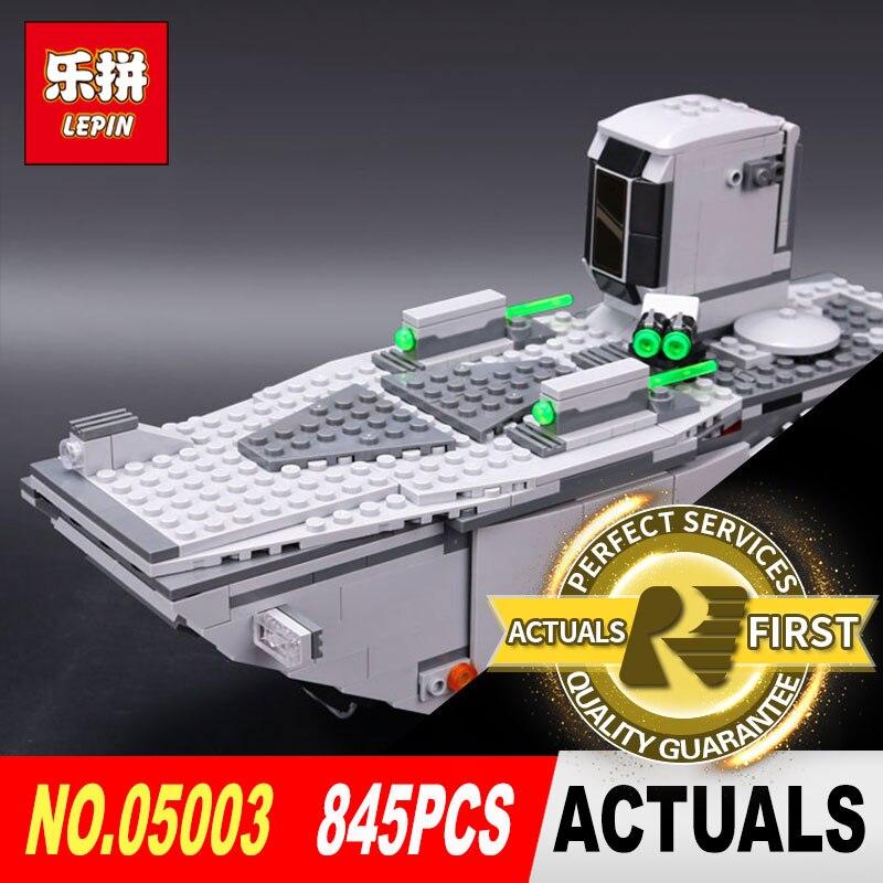 lepin 05003 star wars the force awakens first order transporter model Building kits Blocks Bricks toys for boys LegoINGlys 75103<br>