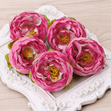 Buy 5pcs Silk Flower Artificial Flower Head Artificial Flower Wedding Decoration Wreaths Wedding Car Decoration Spring Decoration for $1.42 in AliExpress store