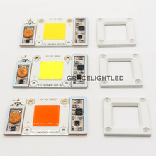 50W 170-265V AC High Power led chip built-in driver Warm white Cool White  10000K 20000K 30000k  LED, Full Spectrum LED