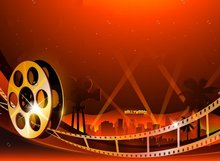 Hollywood Movie Film backdrop Vinyl cloth High quality Computer printed party backdrop Photography Backgrounds(China)