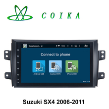 Quad Core Android 5.1 System Car Auto Stereo Receiver For Suzuki SX4 2006 2007 2008 2009 2010 2011 GPS BT WIFI 3G Mirror Screen