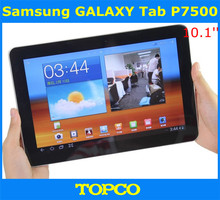 "Samsung P7500 Galaxy Tab 10.1 3G Original Unlocked 3G Dual-core Android Tablet 10.1"" 3.15MP WIFI GPS 16GB ROM dropshipping"
