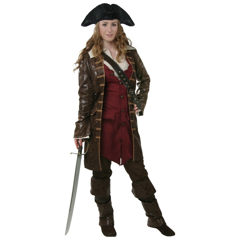 Women Caribbean Pirate Costume