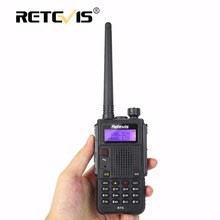 8W Walkie Talkie Black Retevis RT5 VHF UHF Dual Band 128CH VOX Handy Ham Radio Hf Transceiver Amateur cb Radio Walkie-Talkie Set