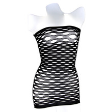 Buy Female Sexy Underwear Large Mesh Erotic Underwear Female Baby Doll Dress Sex Clothes Erotic Fishnet Pajamas Dress W8927