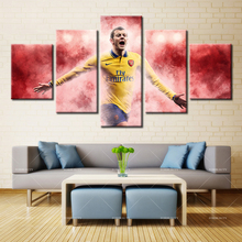5 panel Modern Home Art Wall HD Picture Canvas printings Living Room Decoration Theme Arsenal Football Club486(China)